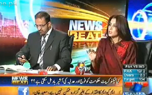 News Beat (Umer Riaz Abbasi) – 25th December 2012