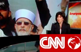 CNN : Dr Tahir-ul-Qadri's Exclusive Interview with Amanpour