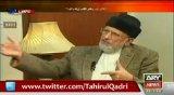 Parliament ki taraf proceed krta to democracy na bachti - Dr Qadri