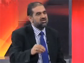 Dr Raheeq Abbasi on Dunya News in Top Story about 11 May Dharna